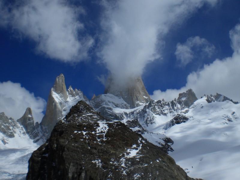 Cerro Pioncenot und Fitz Roy